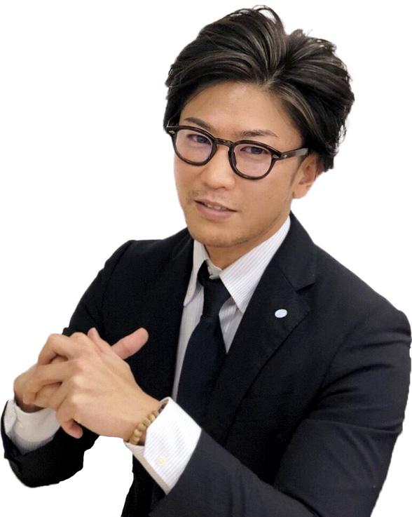 代表取締役 廣濱裕基